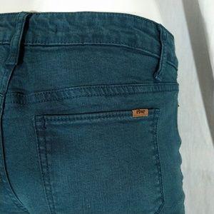 Else Dark Turquoise Skinny Jeans EUC